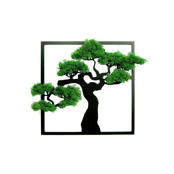 Dekoracja Bonsai kwadrat 30x30cm